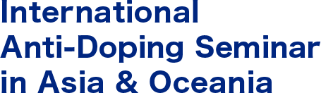 International Anti-Doping Seminar in Asia & Oceania